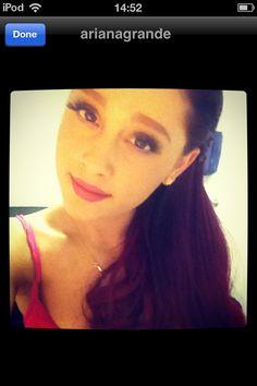 Ariana Grande on Keek