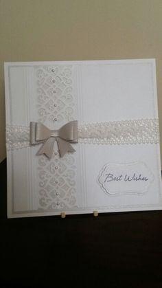 Card using Sue Wilson's new dies