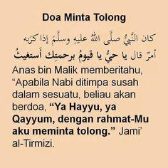 Doa Minta Tolong Islamic Love Quotes, Islamic Inspirational Quotes, Muslim Quotes, Hijrah Islam, Doa Islam, Pray Quotes, Best Quotes, Just Pray, Islamic Prayer