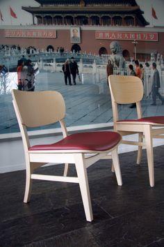 Cup cup lounge, design Luc Vincent
