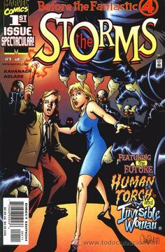 BEFORE THE FF: THE STORMS, SERIE LIMITADA COMPLETA DE 3 NÚMEROS, MARVEL, 2.000. USA