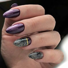 2019 Nail Colors and Trends You Need to Try These trendy Nails ideas would gain you amazing compliments. Check out our gallery for more ideas these are trendy this year. Nail Manicure, Toe Nails, Manicure Ideas, Coffin Nails, Stylish Nails, Trendy Nails, Cute Almond Nails, Modern Nails, Short Nails Art