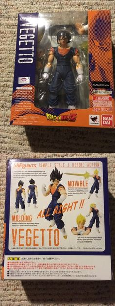 DragonBall Z 7117: S.H. Figuarts Vegito Dragonball Z Action Figure -> BUY IT NOW ONLY: $40 on eBay!