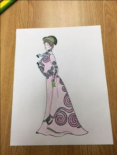 Pendleton Public Library Adult & Teen Coloring Club! Heather colored a selection from the Pendleton Public Library's Adult Coloring Pinterest page!