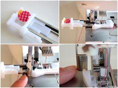 Nähfuß - kunde Automatische Knopflochschiene Knopfannähfuß Knopflochfuß W6 Naehmaschine 3