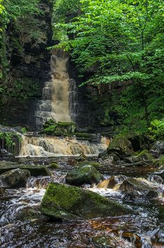 Mill Gill Falls - Yorkshire Dales, England