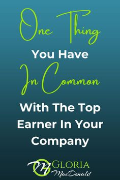 I'll bet you any amount of money you have this in common with the top earner in your copy.  No matter how new you are... Or what level you're at.  In fact...  I'd be willing to wager that you even have this in common with the big names like, Eric Worre, Ray Higdon, etc.  I'll tell you what it is.