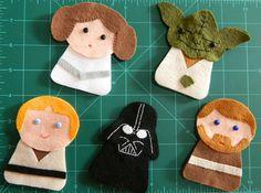 Star Wars ornaments!   W.I.P. by yolou, via Flickr