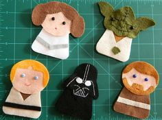 Star Wars ornaments!   W.I.P. by yolou, via Flickr