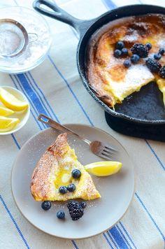 Dutch Baby Pancake Recipe | Camille Styles