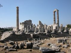 Located about 18 km (11 miles) south of the ancient port city of Miletus, on the western coast of modern-day Turkey, the Temple of Apollo at Didyma or Didymaion was the fourth largest temple in the ancient Greek world.