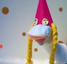 Princess sock puppet