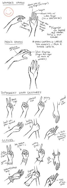 different hands
