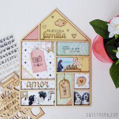 En Sweet Möma estamos de celebración porque Ana será pronto mamá. Ange ha creado una casa para Ana con Mojito Time y fotos familiares.