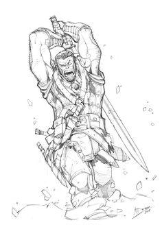 Angry Northman by Max-Dunbar.deviantart.com on @deviantART