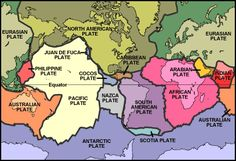 This site has some great maps to use when teaching about tectonic plate movement and how those plate movements affected species' ranges!