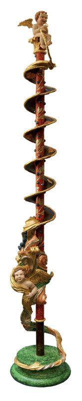 Enrica Barozzi's art - Wood sculpture -  Ricordo d'infanzia - Omaggio ad Andrea Brustolon