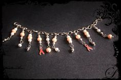 MULTIPLE SCLEROSIS bracelet Tibetan Silver by NightWalkerDesigns, $14.00