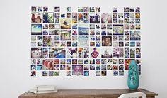 Kreative Fotowand-Ideen