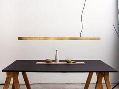 I MODEL Lampada a sospensione in ottone Collezione A_Light by Anour design Arash Nourinejad