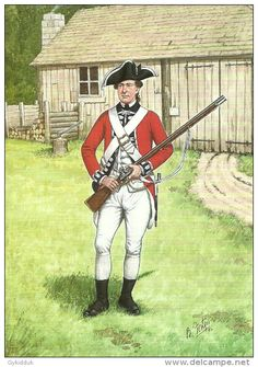 Scots Guards - Private Foot Guards in 1777 American History Lessons, Us History, British History, Military Gear, Military History, Military Uniforms, British Soldier, British Army, Teaching History