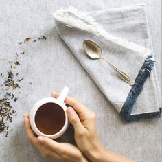 """""""If you are cold, tea will warm you.  If you are heated, it will cool you.  If you are depressed, it will cheer you.  If you are excited, it will calm you.""""  ~ William Gladstone  This British PM had some wonderful quotes...I just had some tea and I am feeling cool and calm now. Enjoy your Sunday...  #eva #teacup #white #porcelain #tea #ceramic #maiamingdesigns #evazeisel"""
