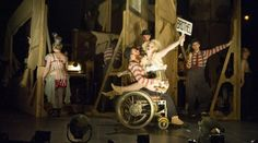 Threepenny Opera @ National Theatre. Set design by Vicki Mortimer