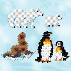<p>Make a visit to the cold regions when you create this fun set of Arctic Friends from Perler Beads.</p>