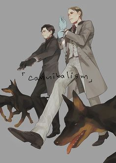 Hannibal - Hannibal Lecter x Will Graham - Hannigram