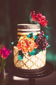 wedding cake idea; photo: The Nichols