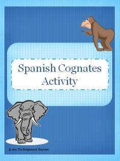 This fun and engaging activity helps students discover what cognates and false cognates are, all on their own!  Download includes activity sheet ...