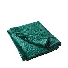 Överkast Zelda, 180x240 cm, mörkgrön