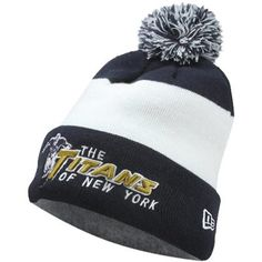 Awesome retro Titans of New York New Era 2012 Sideline Classic Knit Hat New  Era Beanie 4d2c6d67c