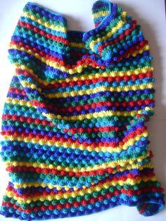 Lovely bobble blanket