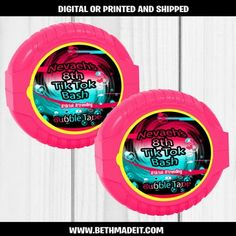Tik Tok Party Favors – Beth Made It