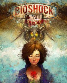 Bioshock Infinite Alternate Cover by *theLazyLion on deviantART