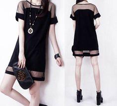 vestidos femininos European Style Cute Mesh Patchwork Sexy Chiffon Dresses 2015 Fashion Women Bodycon Dress Summer Mini Dress