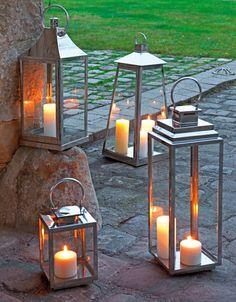 Truffaut d coration sur pinterest d coration pots et for Lanterne terrasse exterieure