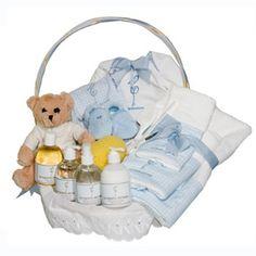 Regalos para bebes-Cosmetica infantil Plena Azul-Canastillas y cestas de regalo para bebes-Regalos nacimiento
