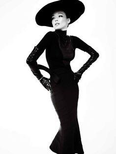 Shu Qi by Mario Testino for Vogue China Dec 2013