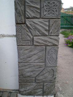 Одноклассники Cement Art, Concrete Art, Concrete Blocks, Rock Fireplaces, Luxury Homes Dream Houses, Landscape Walls, Earthship, Faux Stone, Stone Work
