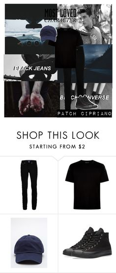 """""""Patch Cipriano-hush,hush"""" by obrien91 ❤ liked on Polyvore featuring Wood Wood, Valentino and Converse"""