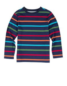 Striped Cotton T-Shirt - Woolworths Cool Outfits, Kicks, Clothing, Sweaters, Cotton, T Shirt, Food, Fashion, Toddler Fashion