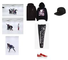 """""""BTS-Spring Day Dance Practice (Suga)"""" by piercethesam0421 ❤ liked on Polyvore featuring OBEY Clothing"""