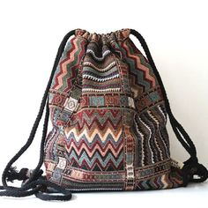 Handmade Gypsy Tribal Bag/Backpack