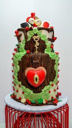 valentine wedding cake - Cake by ann