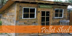 Project: Pallet Shed- Finishing touches! Incredible garden shed created entirely… Project: Pallet Shed- Finishing touches! Incredible garden shed created entirely… – Pallet shed – Pallet Decking, Pallet Shed, Pallets Garden, Wood Pallets, Outdoor Pallet, Garden Benches, Pallet Bar, Diy Pallet Projects, Outdoor Projects