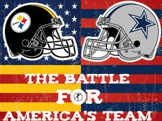 The Pittsburgh Steelers vs The Dallas Cowboys