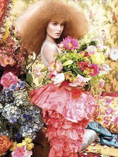 floral fro  Ruven Afanador Photographer