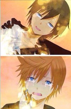 """A lot of people say that Roxas's last words to Xion, (""""But who will I eat ice cream with,"""") mean that all he could thank about was ice cream. Not true. Xion and Roxas both shared the same power of the key blade, so they had a very special connection. They both helped each other to discover who they were. Think about it, after Xion's death, Roxas would still have Axel to eat ice cream right? But Roxas wasn't saying """"But who will I eat Ice cream with?"""" He was saying """"Don't leave me here…"""